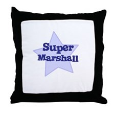 Super Marshall Throw Pillow