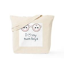 love my twin boys Tote Bag