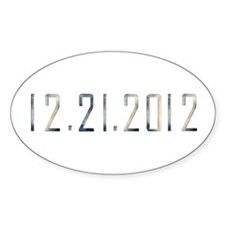 12.21.2012 Oval Decal