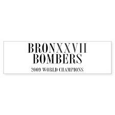 BronXXVII Bombers Roman Bumper Bumper Sticker