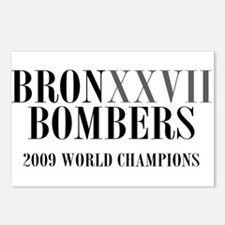 BronXXVII Bombers Roman Postcards (Package of 8)