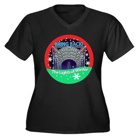 Bring Back! The Lights of Winter Shirt Women's Plu