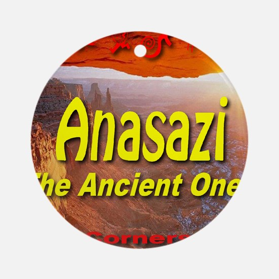 Anasazi The Ancient Ones Ornament (Round)