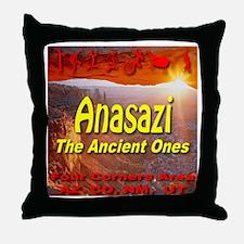 Anasazi The Ancient Ones Throw Pillow