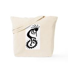 Kokopelli Unicycle Tote Bag
