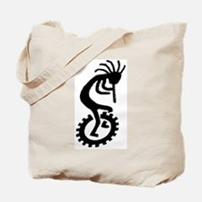 Kokopelli Unicycle Tote Bag