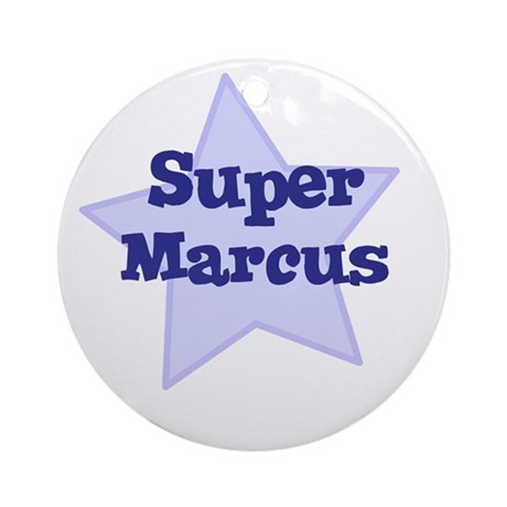 Super Marcus Ornament (Round)