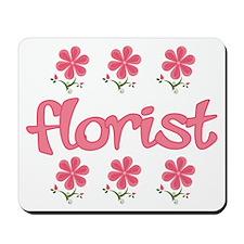 Floral Florist Mousepad
