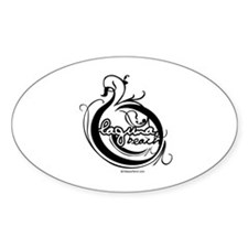 Laguna Beach - Oval Decal