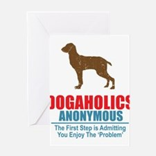 Dogaholics Greeting Card