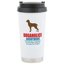Dogaholics Ceramic Travel Mug