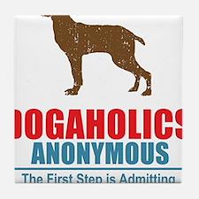 Dogaholics Tile Coaster
