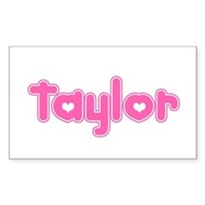 """Taylor"" Rectangle Decal"
