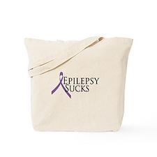 Epilepsy Sucks Tote Bag