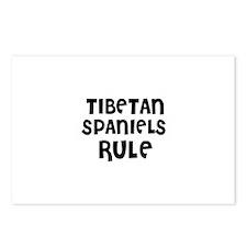 TIBETAN SPANIELS RULE Postcards (Package of 8)