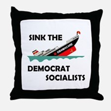 DROWN THE LOONIES Throw Pillow