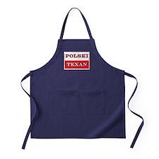 Polski Texan Polska Flag Apron (dark)