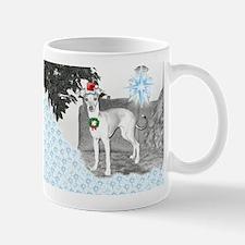 Italian Greyhound Christmas Mug