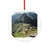 Pichu Round Ornaments