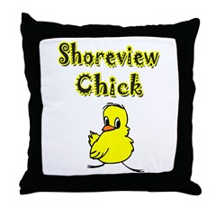 Shoreview Chick Throw Pillow