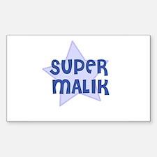 Super Malik Rectangle Decal