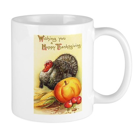 Vintage Thanksgiving Mug