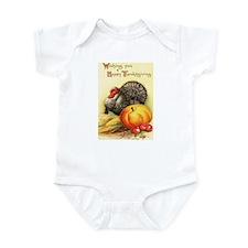 Vintage Thanksgiving Infant Bodysuit