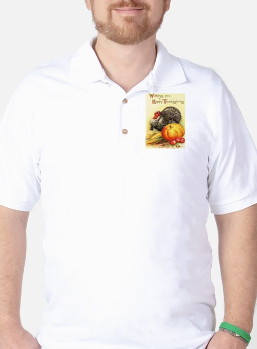 Vintage Thanksgiving Golf Shirt