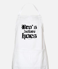Bro's before Hoes -  BBQ Apron