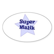 Super Malik Oval Decal
