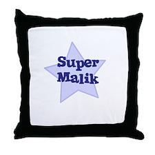 Super Malik Throw Pillow
