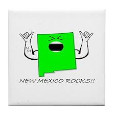 NEW MEXICO ROCKS!! Tile Coaster