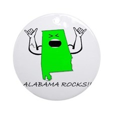 ALABAMA ROCKS!! Ornament (Round)