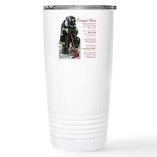 Firefighter Prayer Travel Coffee Mug