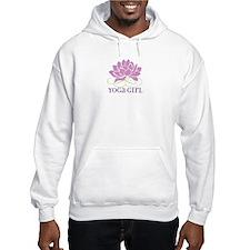 yoga girl Hooded Sweatshirt