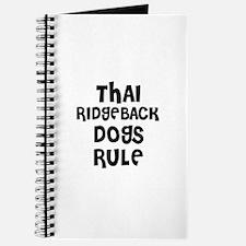 THAI RIDGEBACK DOGS RULE Journal