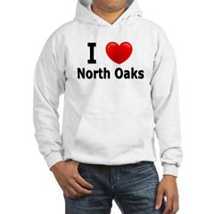 I Love North Oaks Hoodie