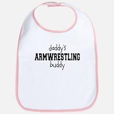 Daddy's Armwrestling Buddy Bib