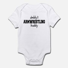 Daddy's Armwrestling Buddy Infant Bodysuit