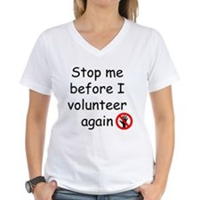 volunteer_black T-Shirt