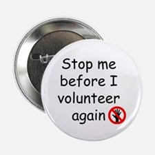 "Cute Volunteer 2.25"" Button"