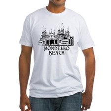 White Fitted Mondello T-Shirt