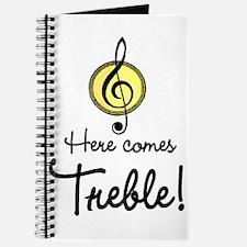 Cute Baby music Journal