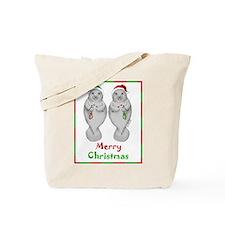 Merry Manatee Tote Bag