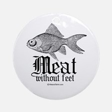 Meat without feet -  Ornament (Round)