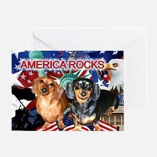 Love USA Greeting Card
