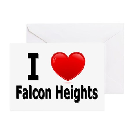 I Love Falcon Heights Greeting Cards (Pk of 10)