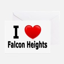 I Love Falcon Heights Greeting Cards (Pk of 20)