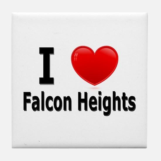 I Love Falcon Heights Tile Coaster