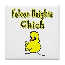 Falcon Heights Chick Tile Coaster